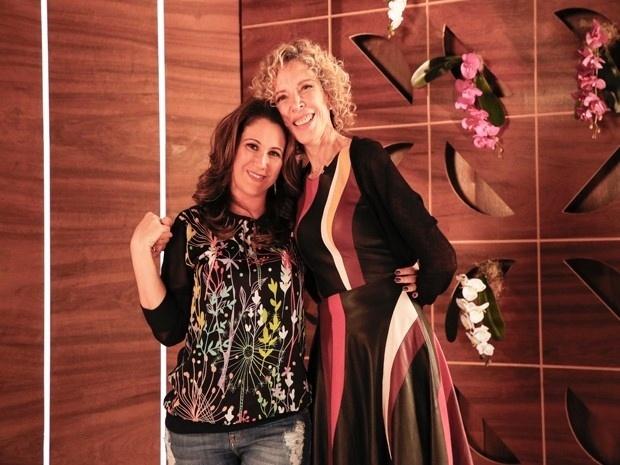 Maria Rita com Marília Gabriela no