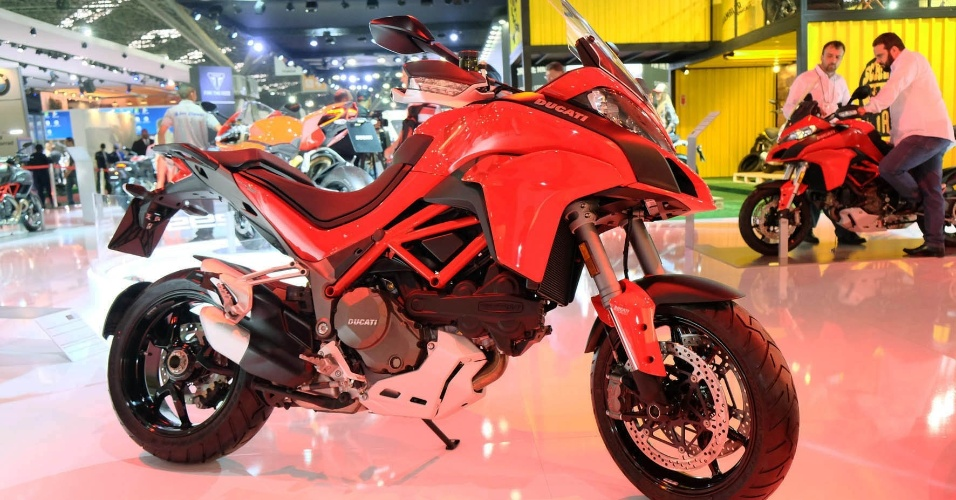 Ducati Multistrada 1200 DVT no Salão Duas Rodas 2015