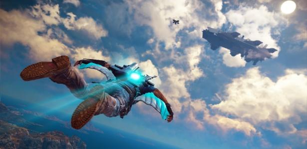 """Com o pacote """"Sky, Land & Sea"""", será possível, entre outras coisas, voar pelos cenários do game"""