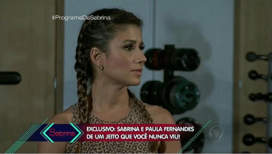 11.jun.2016 - Paula Fernandes