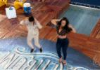 Concorrentes, Viviane e Scheila Carvalho relembram concurso 19 anos depois - Reprodução/TV Globo