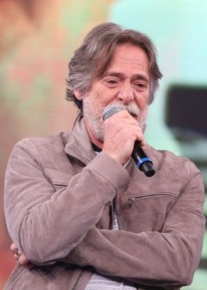 """O ator José de Abreu, que comentou briga no """"Domingão do Faustão"""""""