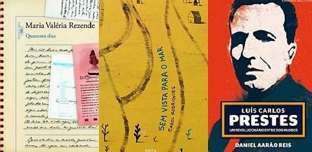 Maria Rezende, Carol Rodrigues e bio de Luís Carlos Prestes vencem Jabuti