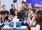 Xuxa ganha festa surpresa no palco do seu programa para celebrar 53 anos - Blad Meneghel/Divulgação