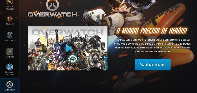 Overwatch adicionado no launcher da dom nio mmo for Terrace 48 alor setar