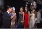 Andressa Salomone faz blitz fashion em baile da Vogue - Rede TV