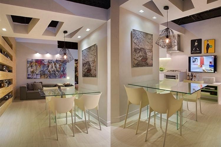 Sala De Tv E Sala De Jantar ~ Sala De Estar Junto Com Sala De Jantar Pequena Modelos de sala jantar