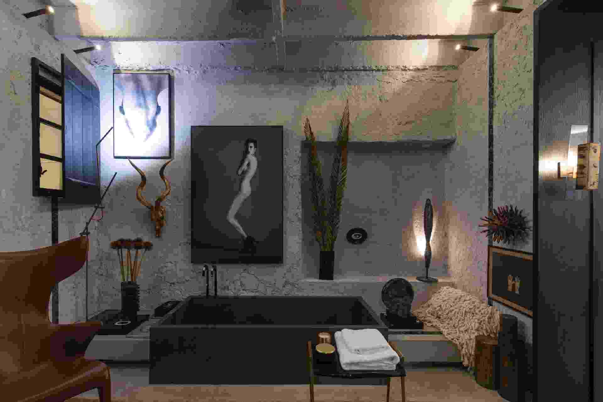 Fotos: Casa Cor SP: 4 banheiros luxuosos e irresistíveis para você  #886943 1920x1281 Banheiro Com Banheira Bege