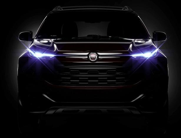 Teaser da versão de produção da picape Toro, da Fiat, foi revelado nesta terça-feira (29)