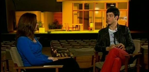 Mateus Solano em entrevista para o