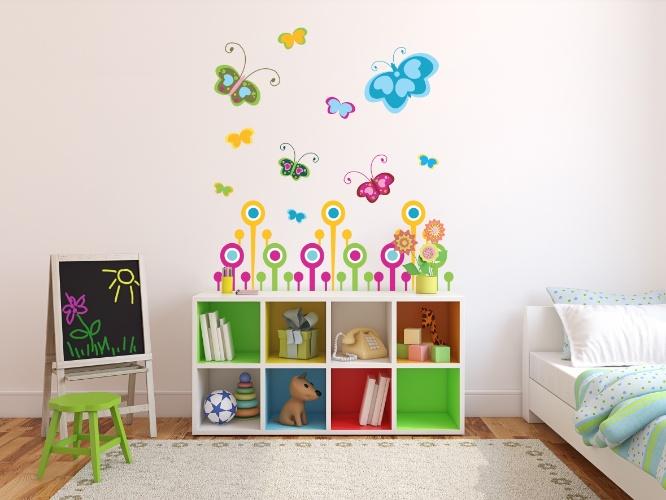 Veja ideias de adesivos de parede para decorar o quarto infantil  Gravidez e