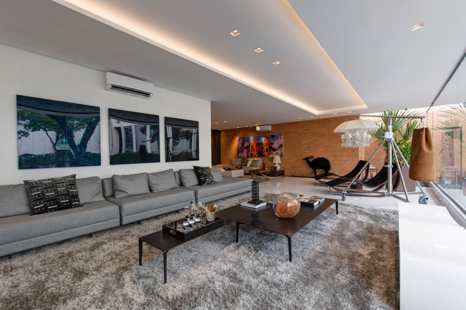 A Casa Inteligente, de 300 m², criada por Jóia Bergamo. A 27ª Casa Cor SP segue até dia 21 de julho de 2013, no Jockey Club de São Paulo