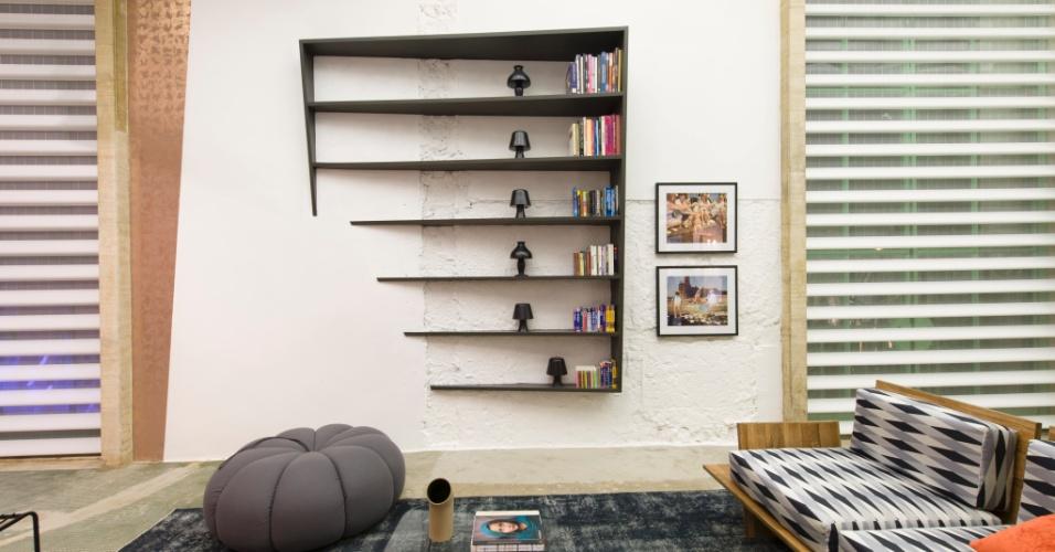O Living Superior, assinado pelo designer de interiores Leo di Caprio. A 27ª Casa Cor SP segue até dia 21 de julho de 2013, no Jockey Club de São Paulo