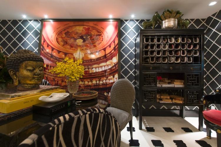 Para a mostra, Murilo Lomas projetou o estúdio London Pied-à-terre. A 27ª Casa Cor SP segue até dia 21 de julho de 2013, no Jockey Club de São Paulo
