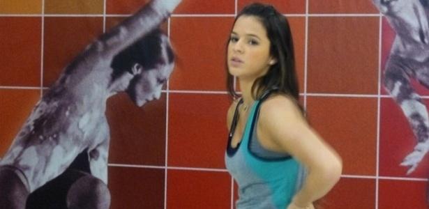 29.mai.2013 - Bruna Marquezine durante treino do