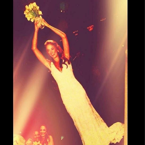 20.mai.2013- Ticiane Pinheiro publica foto para comemorar sete anos de casamento