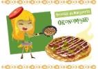 Aprenda a fazer um okonomiyaki, uma pizza fora do comum