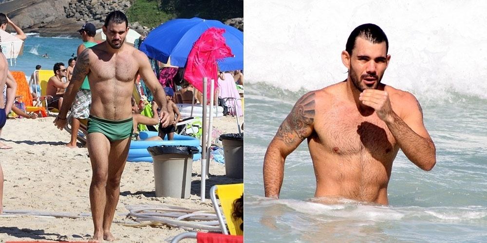 2.jun.2013 - Juliano Cazarré, que atualmente usa uma peruca de dreadlock para interpretar o hippie Ninho em