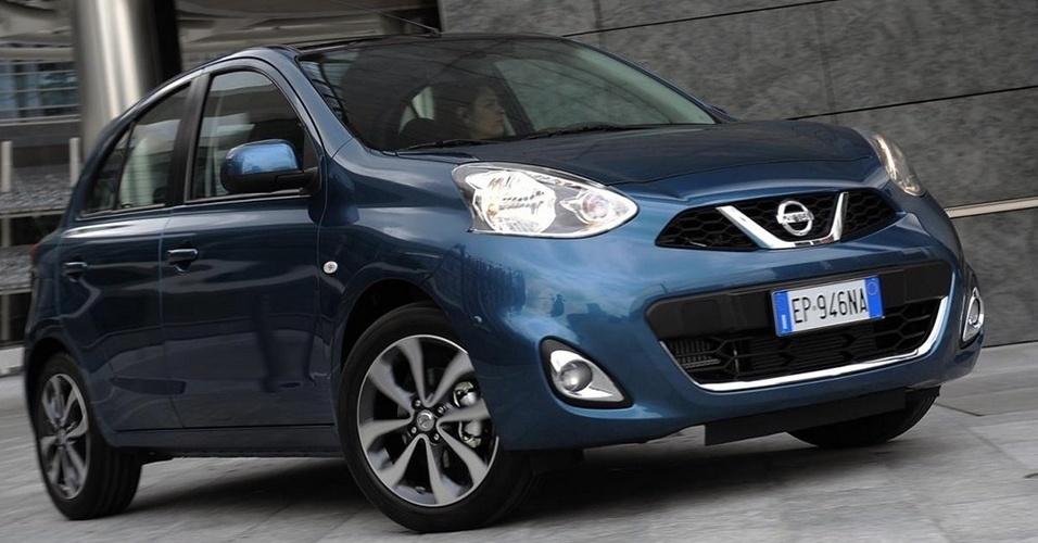Parte dianteira do compacto global da Nissan foi atualizada com nova