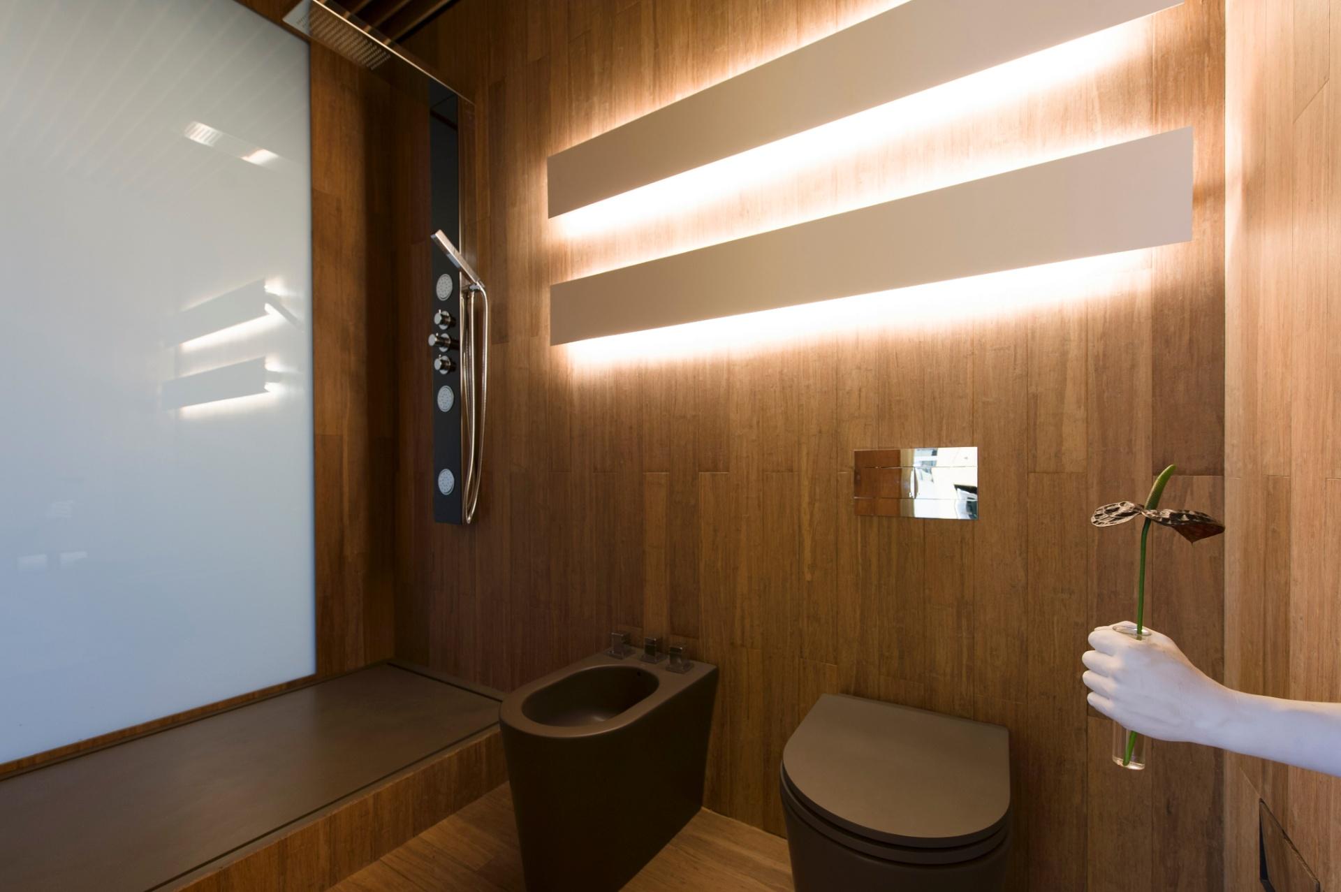 Imagens de #3A2411 No banheiro do ambiente Hotel Black assinado por Guilherme Torres o  1920x1277 px 3120 Box Banheiro Acrilico Sao Paulo