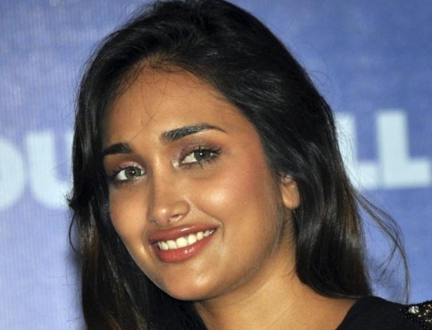 A atriz de Bollywood Jiah Khan em imagem de 2010
