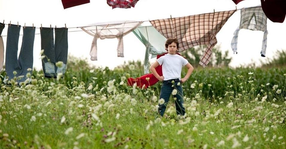 """Cooper Timberline vive o Super-Homem aos 9 anos de idade em """"O Homem de Aço"""""""