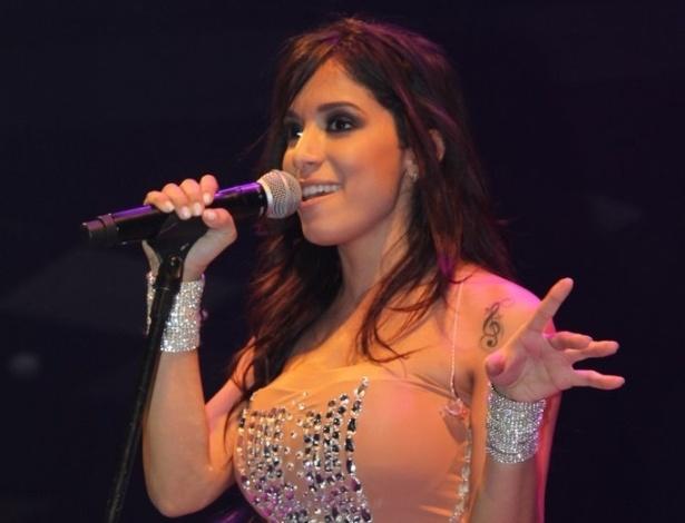 5.jun.2013 - Anitta faz show em São Paulo, no Villa Mix. Adepta do funk melody, ela usa letras leves, exalta o sexo feminino e prefere não usar o MC em nome artístico