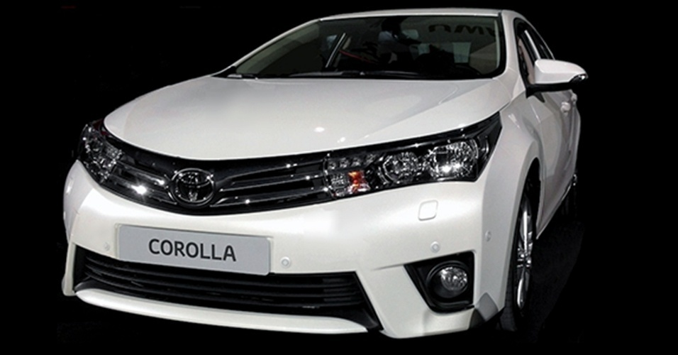Toyota Corolla 2014 vazado