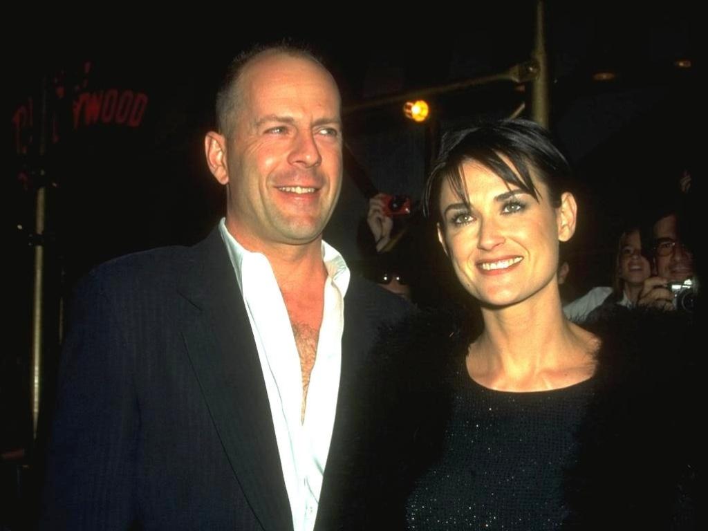 30.mai.1999 - Bruce Willis e Demi Moore