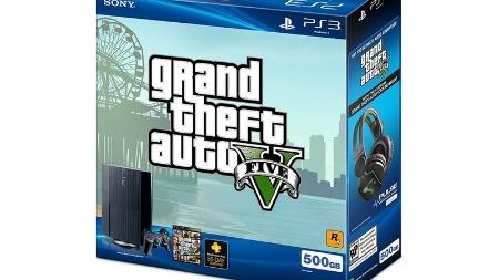 """Sony oferecerá pacote especial de PlayStation 3 com """"Grand Theft Auto V"""""""