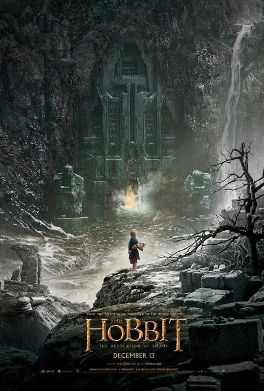 """Primeiro pôster do filme """"O Hobbit - A Desolação de Smaug"""", divulgado pelo diretor Peter Jackson em 9 junho de 2013"""