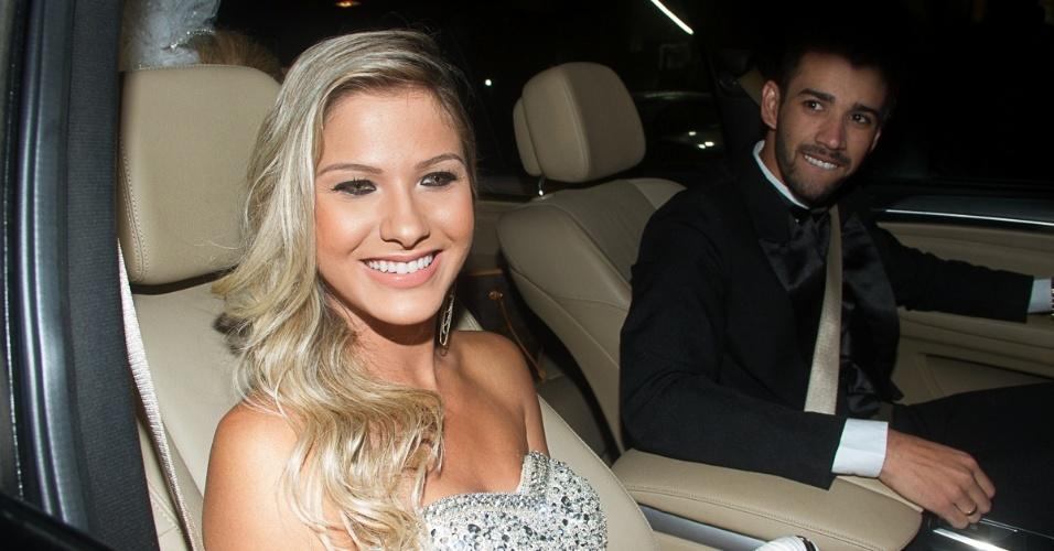 Lima Lima levou a noiva, Andressa Suita, à cerimônia de casamento do