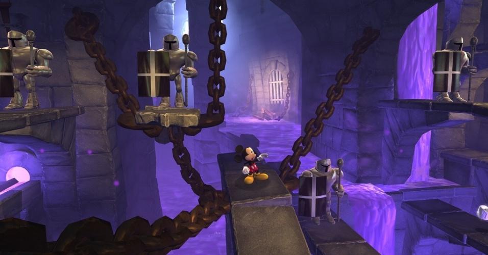 castle of illusion starring mickey mouse divulgação mais castle of