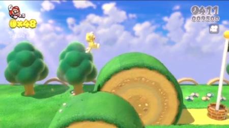 """Mario terá roupa de 'gatinho' em """"Super Mario 3D World""""."""