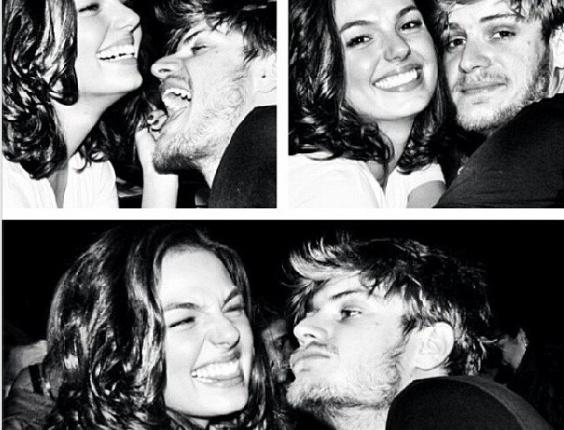 12.jun.2013 - O namorado de Isis Valverde, Tom Rezende, se declarou para a atriz em sua página no Instagram: