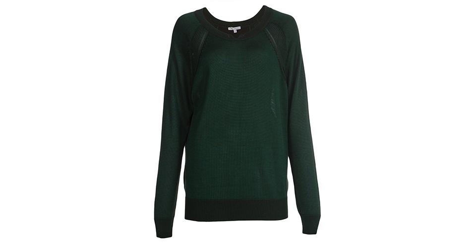Blusa em tricô; R$ 480, da Alcaçuz na Farfetch (www.farfetch.com.br) Preço pesquisado em junho de 2013 e sujeito a alterações