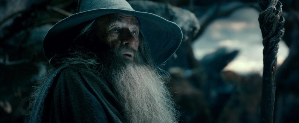 O personagem Gandalf, interpretado pelo ator Ian McKellen, em cena do filme