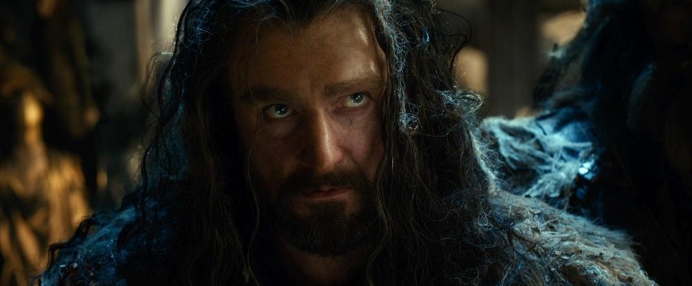 O personagem Thorin, interpretado por Richard Armitage, em cena do filme