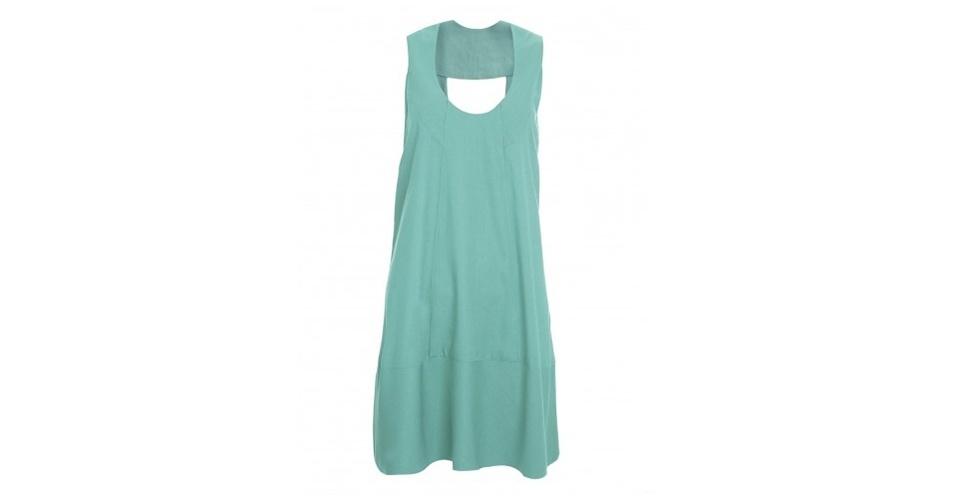 Vestido verde pastel; R$ 238, de A. Niemeyer na Shop2gether (www.shop2gether.com.br) Preço pesquisado em junho de 2013 e sujeito a alterações