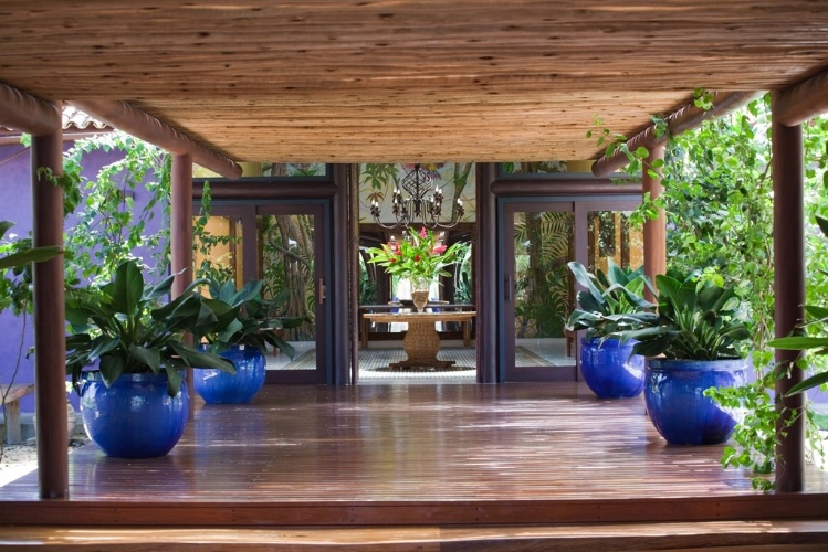 Decor vasos e flores em casa portal cotidie - Entradas para casas ...
