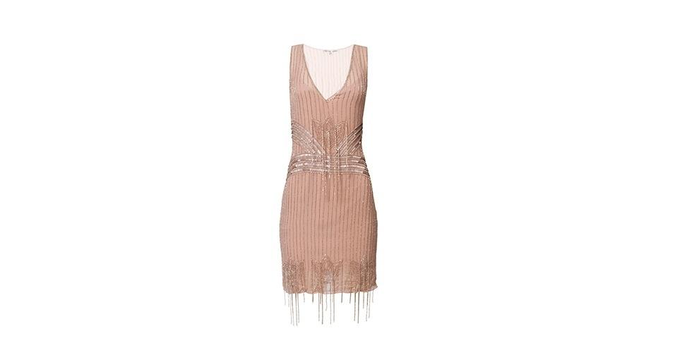 Vestido rosa bordado; R$ 3.770,00 (compra) e R$ 477 (aluguel), da Carina Duek na Dress & Go (www.dressandgo.com.br). Preço pesquisado em junho de 2013 e sujeito a alterações
