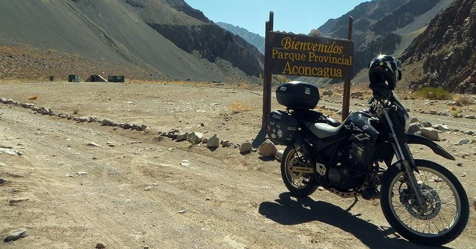 Mapa de aventuras na América do Sul