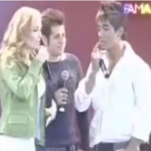 Participação de Hugo e Tiago no reality show  da Globo