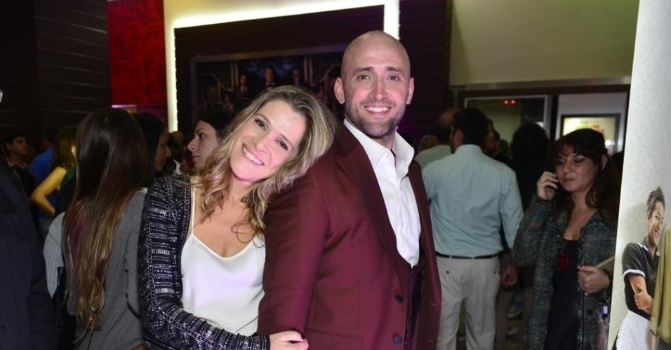 Ingrid Guimarães e Paulo Gustavo, no elenco de
