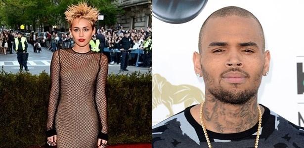 Miley Cyrus e Chris Brown são maus exemplos para crianças, diz pesquisa