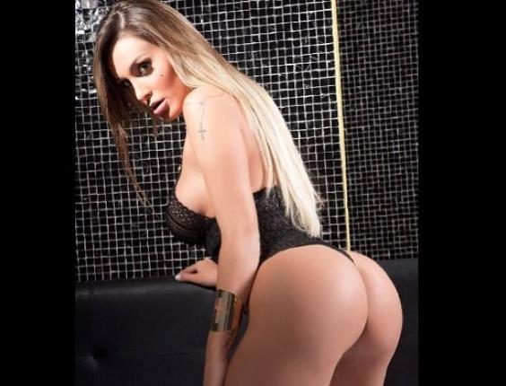 Fotos sensuais da modelo foram publicadas em sua página pessoal do Facebook