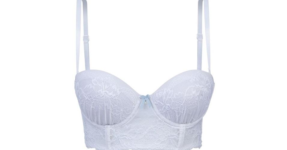 Mini corselet assinado pela estilista Wanda Borges; da Hope (www.hopelingerie.com.br), por R$ 160. Disponibilidade e preço pesquisados em junho de 2013 e sujeito a alterações