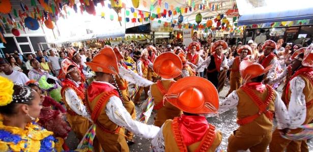 Quadrilha Gonzagão, grupo oficial da Feira de São Cristovão