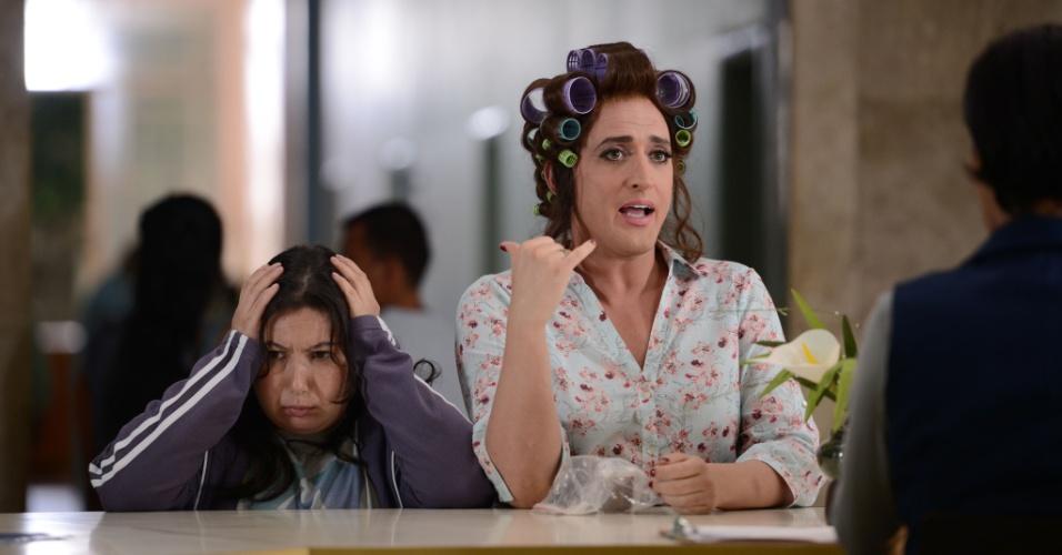 """Cena da comédia brasileira """"Minha Mãe é Uma Peça - O Filme"""", estrelada por Paulo Gustavo e Ingrid Guimarães"""