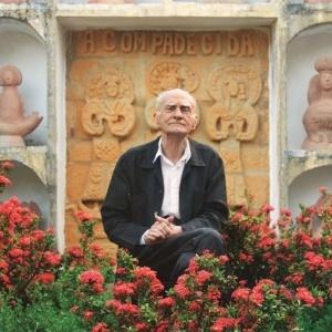 Foto de Ariano Suassuna presente na exposição fotográfica de 28 de junho a 10 de julho, na Caixa Cultural Brasília